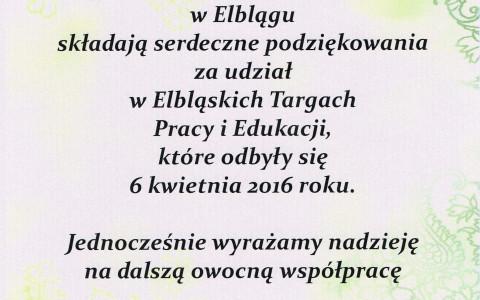 Targi w Elblągu przechodzą do historii :)